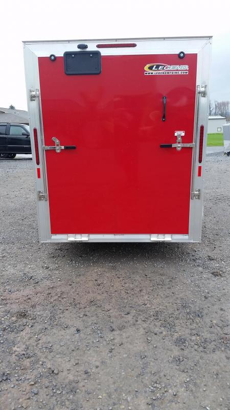 2017 Legend Manufacturing Explorer All Aluminum 6x13 Enclosed Cargo Trailer
