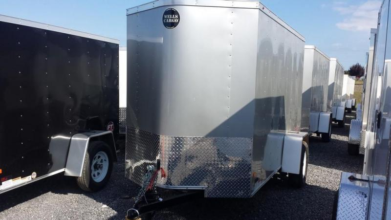 2016 Wells Cargo 5x10 Fast Trac Enclosed Cargo Trailer
