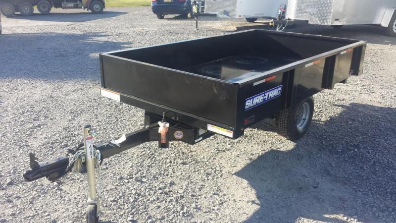 2017 Sure-Trac 4.5x8 Utility Dump Trailer