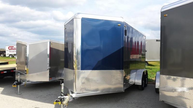 2016 Legend Manufacturing 7x17 all aluminum Enclosed Cargo Trailer