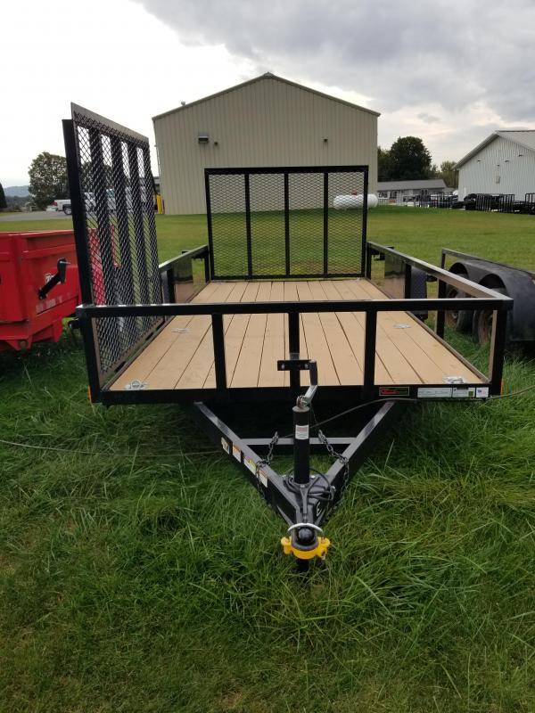 2016 Holmes 6-4x14 Side Ramp Utility Trailer
