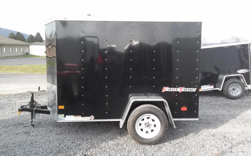2018 Wells Cargo 5x8 Fast Trac Enclosed Cargo Trailer