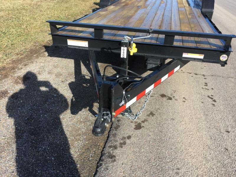 2017 Sure-Trac 7x20 Super Ramp Equipment Trailer