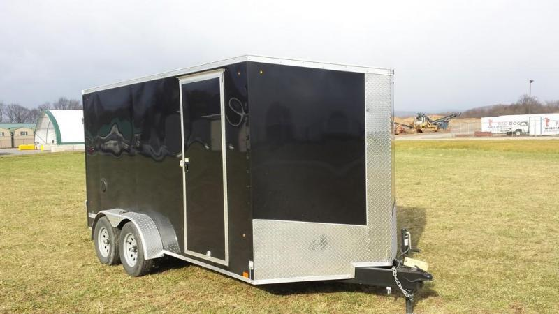 2017 Look Trailers 7x14 Element SE Enclosed Cargo Trailer