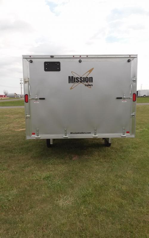 2018 Mission MES 101x12 DL Snowmobile Trailer