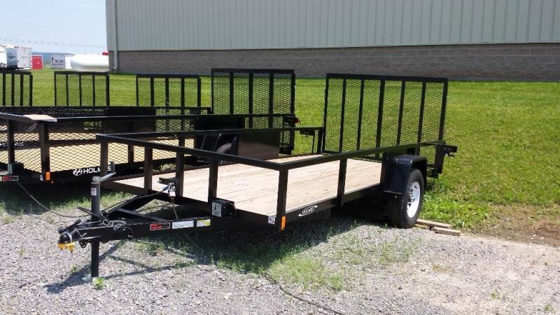 2018 Holmes commercial 6-4x14 utility trailer -LED -5k -open rails