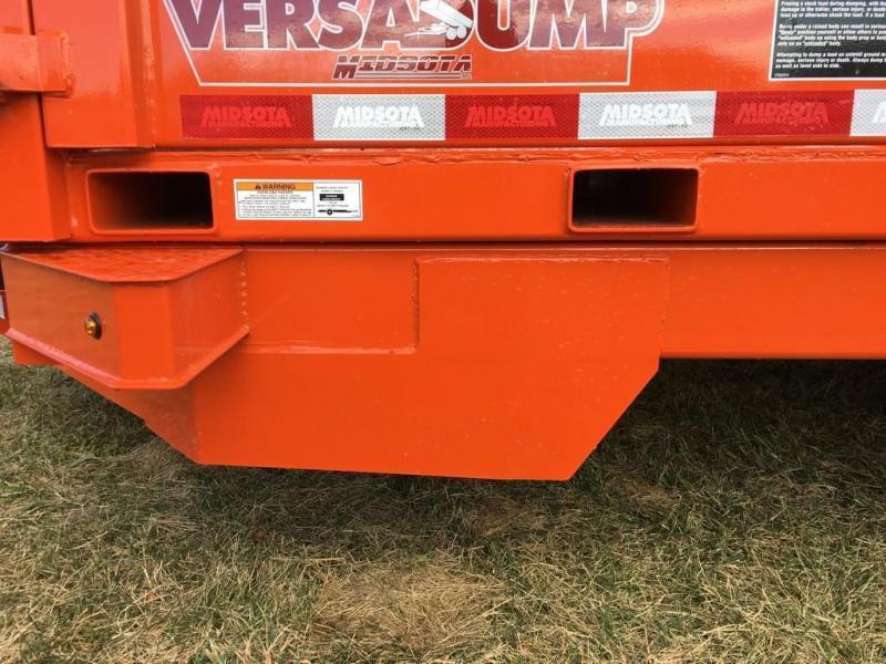 2018 Midsota 7X14 HV-14 Dump Trailer
