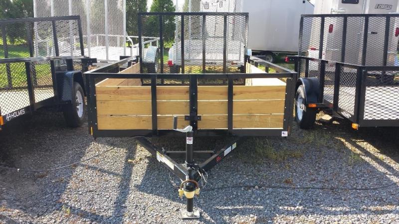 2018 Holmes 6-4x10 Wood Side Utility Trailer