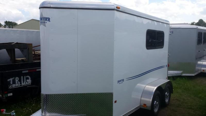 2015 Closeout! Save $500 - Frontier Aluminum Trailers StarLite Series 2-horse straight load Horse Trailer