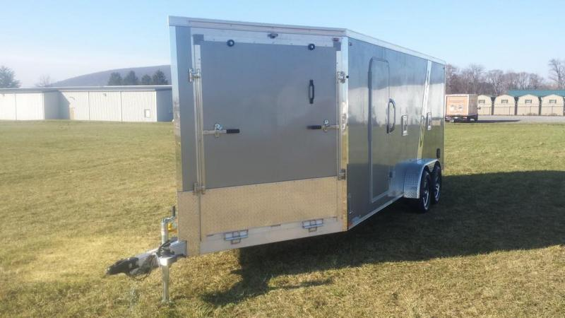 2017 Legend Manufacturing 7x23 V-Nose Explorer Snowmobile Trailer