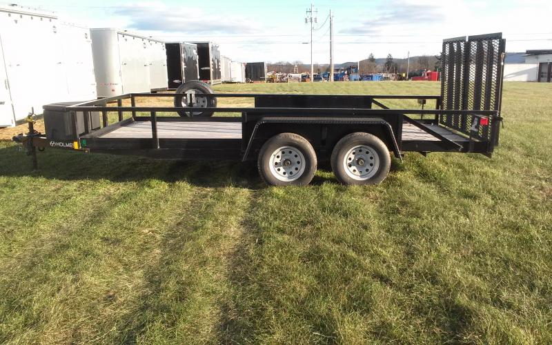 2016 Holmes 6-10x16 Commercial Landscapers Utility Trailer
