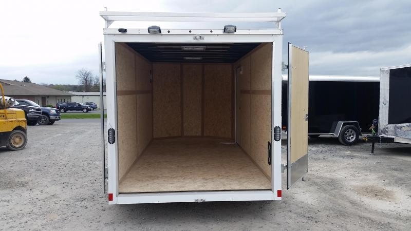 2017 Wells Cargo Fast Trac 7x14 Enclosed Cargo Trailer