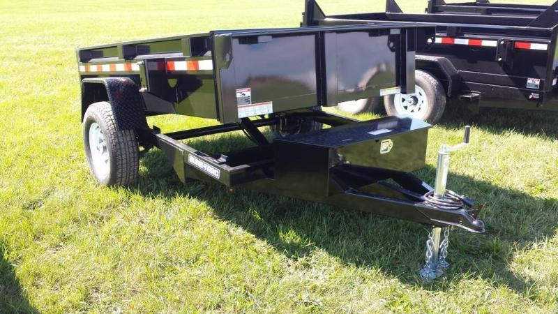 2017 Sure-Trac 5x8 Low Profile Dump Trailer