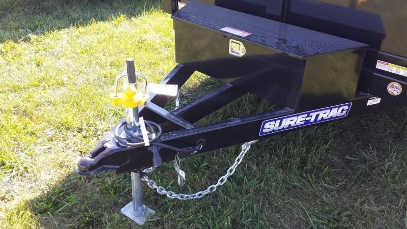 2018 Sure-Trac 6x10 10K Low Profile Dump Trailer
