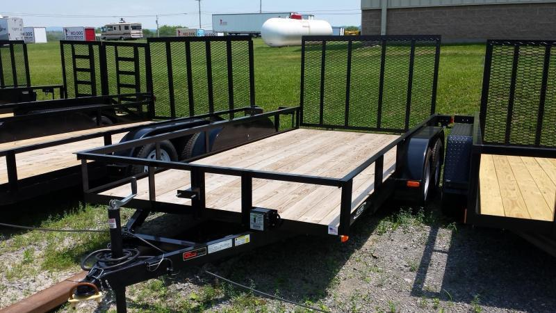 2018 Holmes 6-4x16 Open Side 7k Utility Trailer