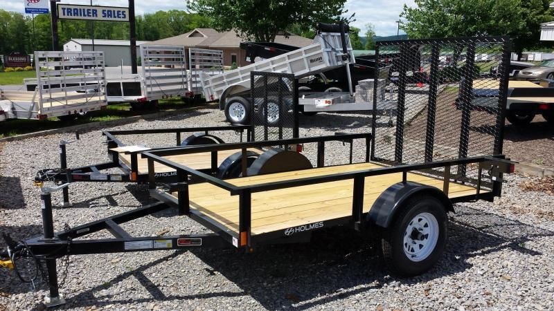 2017 Holmes 5x8 Open Side Rail Utility Trailer