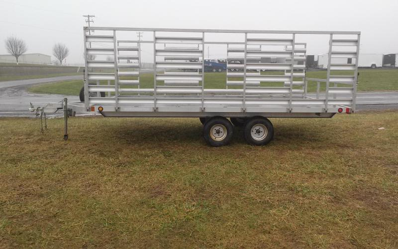 2009 Worthington Trailers 92x13.5 Aluminum ATV Trailer