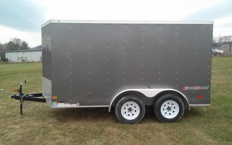 2018 Wells Cargo 7x12 Fast Trac 7k Enclosed Cargo Trailer