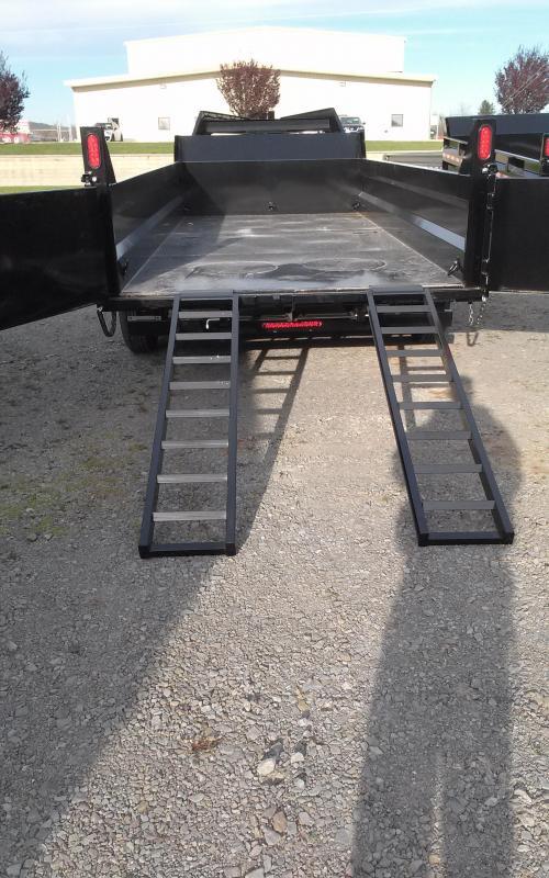 2017 Sure-Trac 7x16 14K Gooseneck Dump Trailer