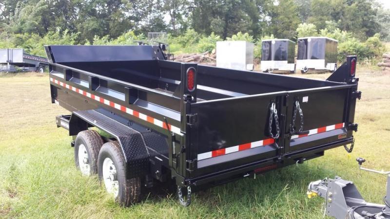 2017 Sure-Trac 7x14 Low Profile Dump Trailer