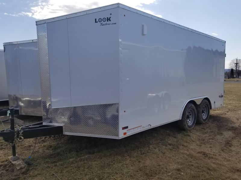 2018 Look Trailers 8.5 x 16 10K Enclosed Trailer