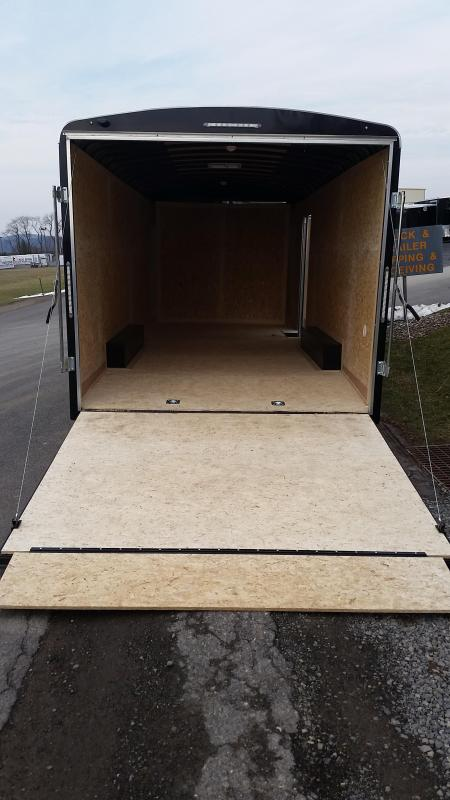 2017 Look Trailers Element Round Top 8.5 x 20 7K Car Hauler