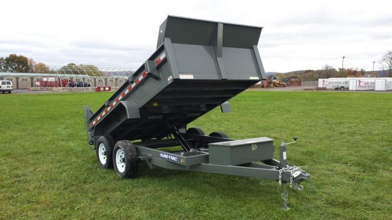 2018 Sure-Trac 6x12 Low Profile Dump Trailer