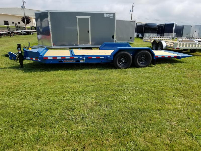 2018 Midsota 7x22 tilt deck Equipment Trailer