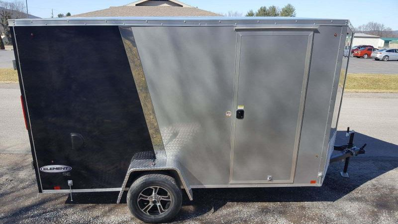 2018 Look Trailers 6x10 Element SE Enclosed Cargo Trailer