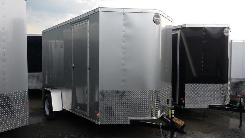 2017 Wells Cargo 6x12 Fast Trac Enclosed Cargo Trailer