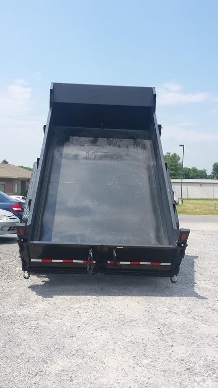 2017 Sure-Trac 7x12 Low Profile Dump Trailer
