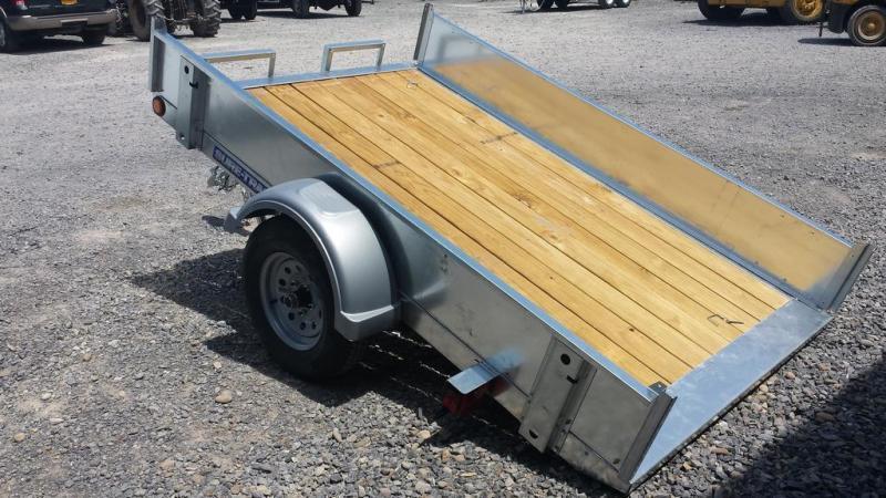 2018 Sure-Trac 5x8 Galvanized Tilt Bed Utility Trailer