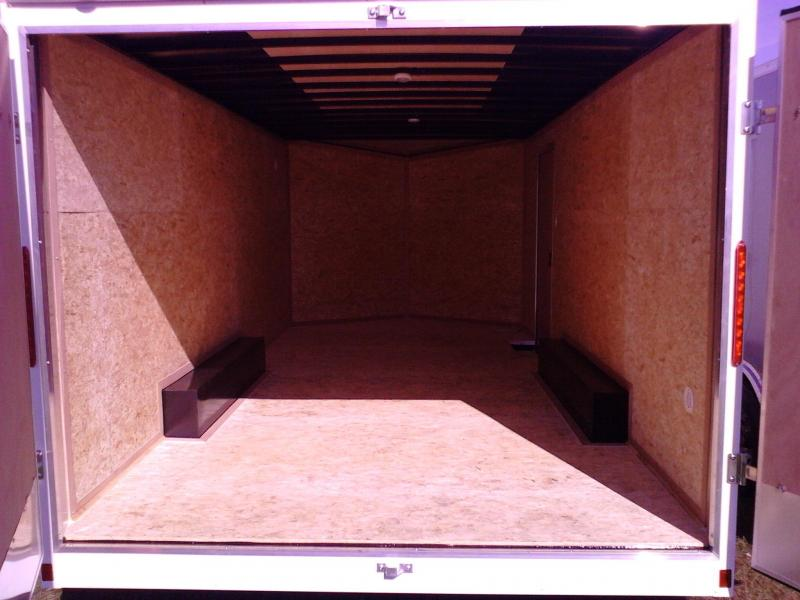 2018 Look Trailers 8.5 x 18 10K Enclosed Trailer