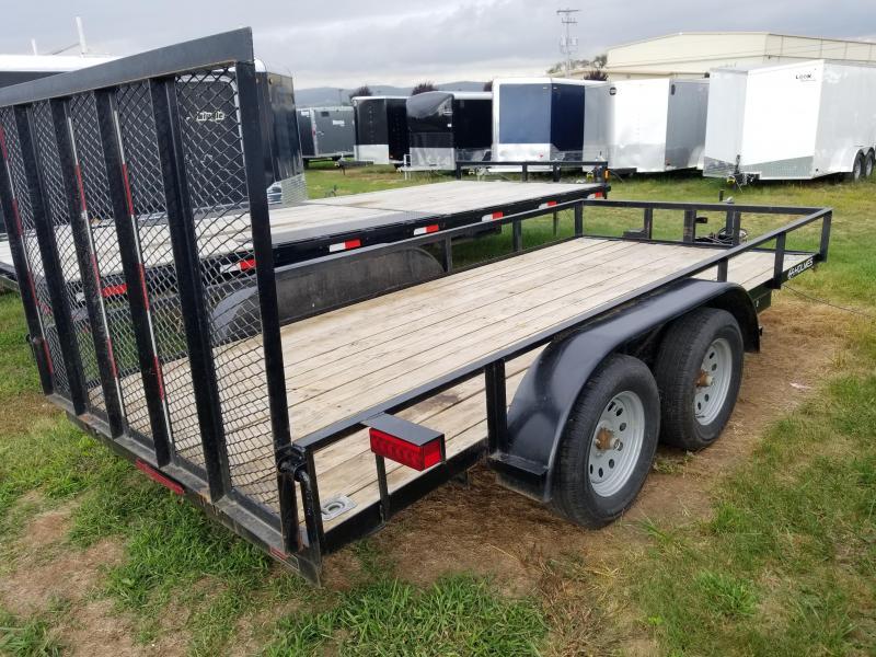 2016 Holmes residential 6-4x14 utility trailer