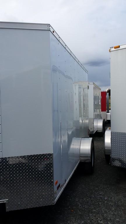 2017 Wells Cargo Fast Trac 7x12 3.5k Cargo / Enclosed Trailer