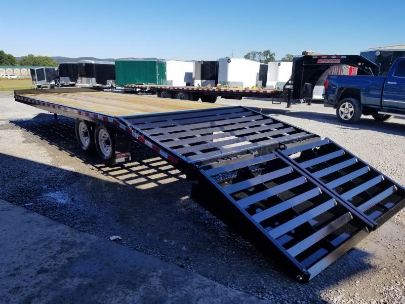 2018 Midsota 24' Deckover 14K GVW Flatbed Trailer