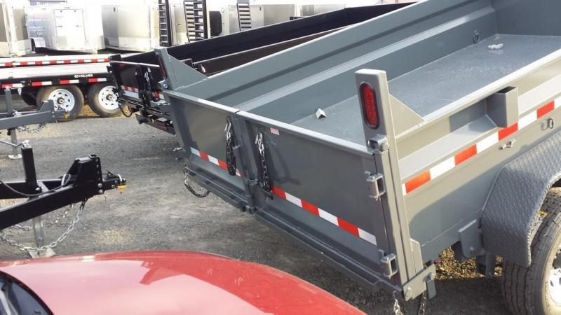 2018 Sure-Trac 7x12 Low Profile Dump Trailer