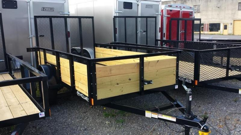 2018 Holmes 5x10 Board Side Utility Trailer