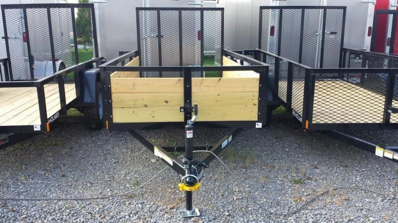 2018 Holmes 5x10 Board Side Utility Trailer