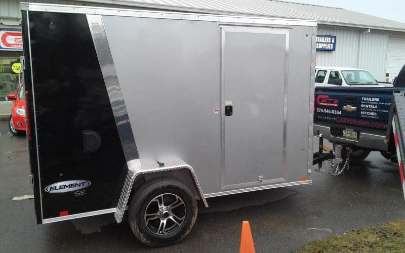 2018 Look Trailers 6x10 Element SE Enclosed Cargo Trailer