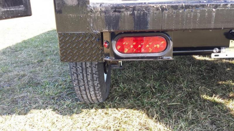 2017 Sure-Trac 5x10 Low Profile Dump Trailer