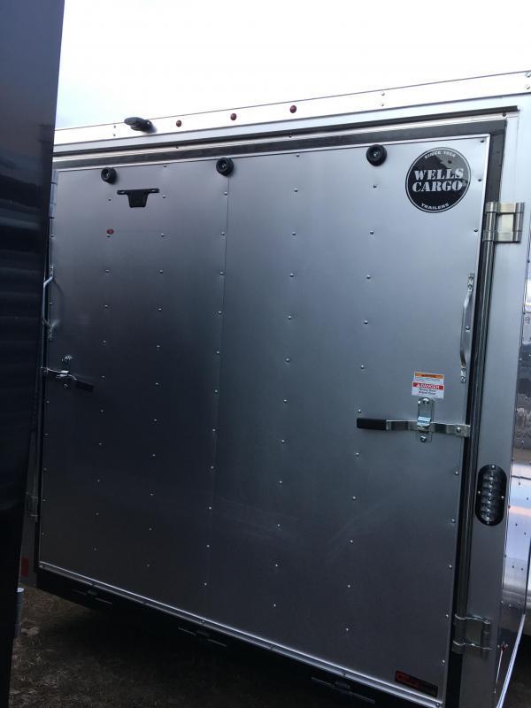 2017 Wells Cargo 7x16 Fast Trac Enclosed Cargo Trailer
