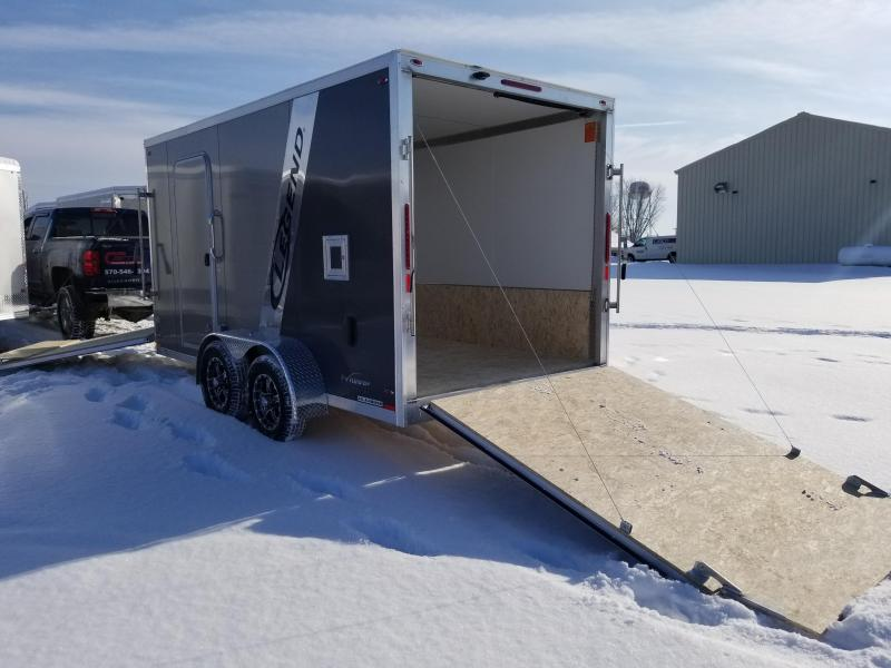 2018 Legend Manufacturing 7x19 Explorer Snow Snowmobile Trailer