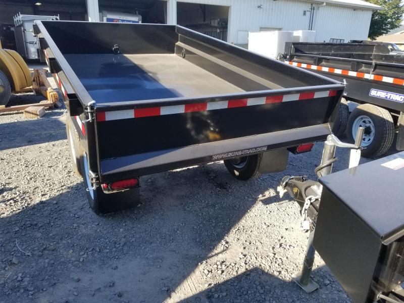 2018 Sure-Trac 6x10 Deckover Surge Brake Dump Trailer