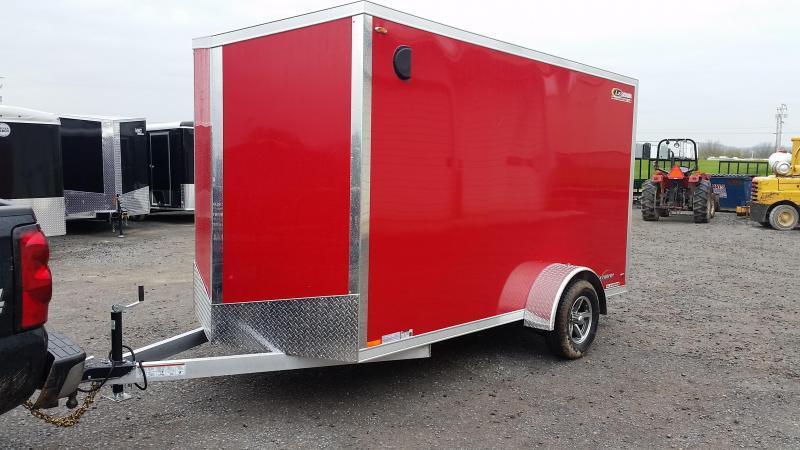 2018 Legend Manufacturing Explorer All Aluminum 6x13 Enclosed Cargo Trailer