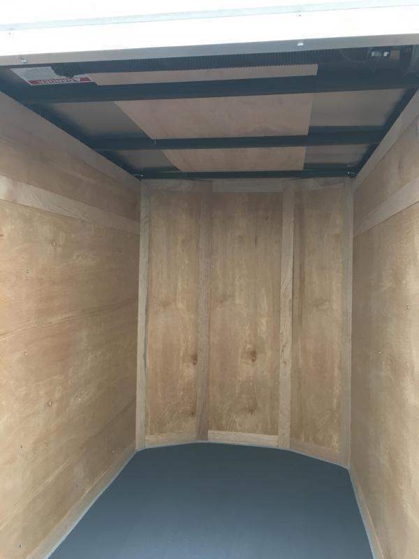 2017 Wells Cargo 4x6 Fast Trac Enclosed Cargo Trailer
