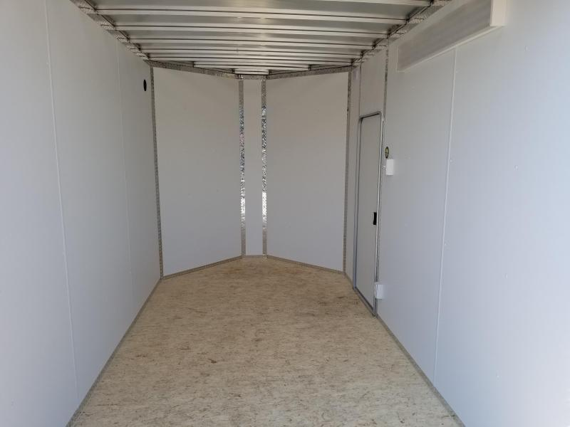 2018 Legend Manufacturing All Aluminum 7x12 Enclosed Cargo Trailer