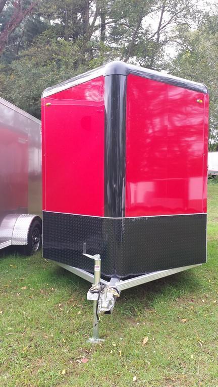 2016 Legend Manufacturing 7x15 all aluminum Enclosed Cargo Trailer