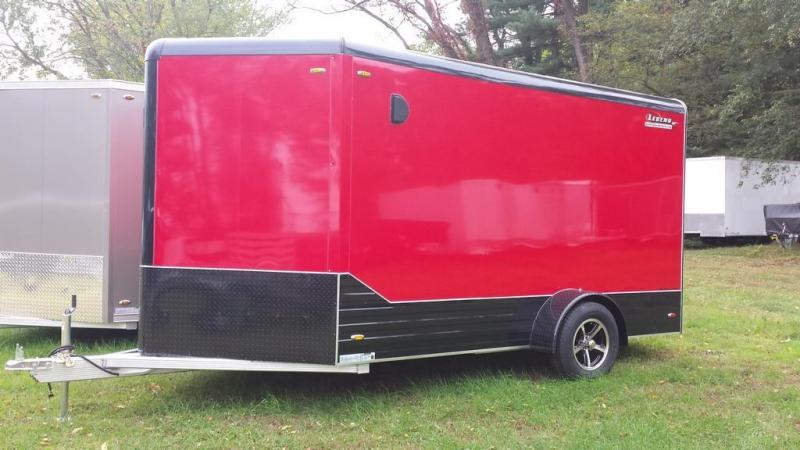 2016 Legend Manufacturing 7x15 all aluminum Enclosed Cargo Trailer