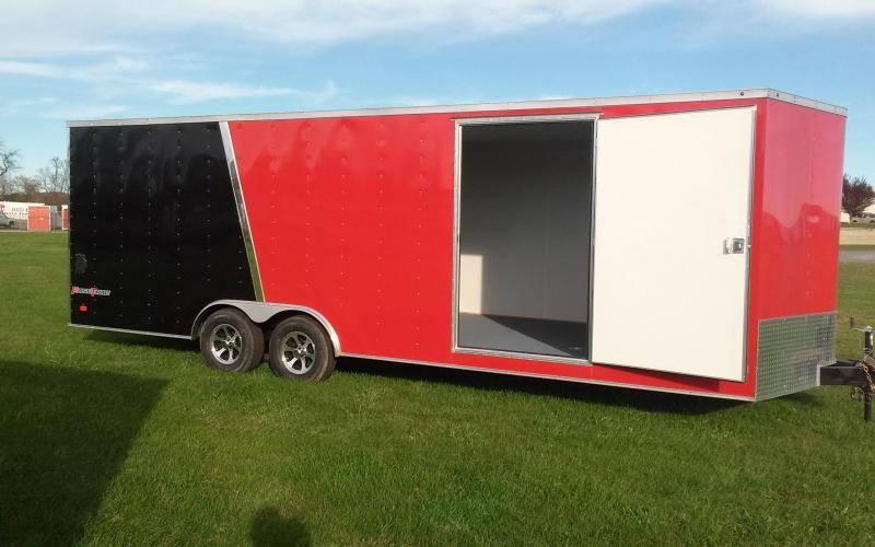 2017 Wells Cargo Fast Trac 8.5x24 10K Car/Racing Trailer